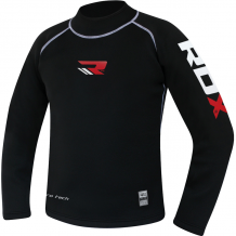 RDX neoprēna kompresijas krekls melns (X)
