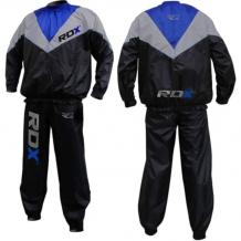 RDX Weight Loss Sauna garais tērps melns/pelēks/zils (X)