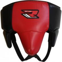 RDX GROIN GUARD BIG  REX  sarkans/melns cirkšņu aizsargs