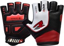RDX Gym Gloves Rex Multi fitnesa cimdi sarkani