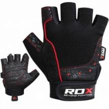 RDX Gym Glove Amara New fitnesa cimdi melni (X)
