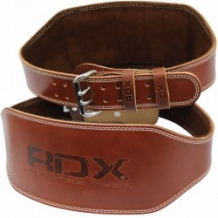 Svarcelšanas josta RDX Padded brūna (X)