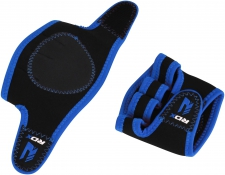RDX Gym Neo Prene Grippi fitnesa cimdi zili (X)