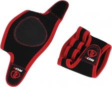 RDX Gym Neo Prene Grippi fitnesa cimdi sarkani