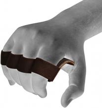 RDX Gym ādas fitnesa cimdi brūni (X)