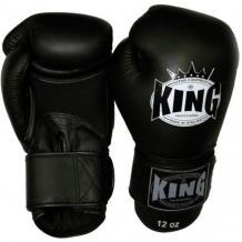 King Air boksa cimdi melni
