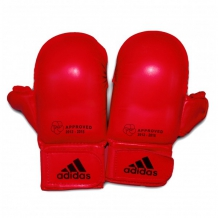Adidas Thumb WKF Approved karate cimdi sarkani (X)