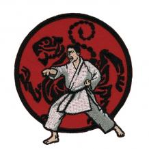 Izšūta emblēma Karate Shotokan