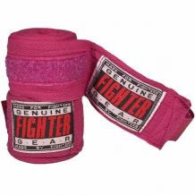 Fighter kokvilnas boksa saites rozā (X)