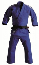 Adidas Contest J650 džudo kimono zils (X)