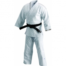 Adidas Elite IJF J800 džudo kimono balts (X)