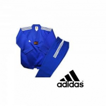 Adidas Taekwondo DOBOKI CHAMPON COLOR ( 3 STRIPES ) zils/balts (X)