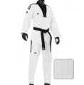 Adidas Taekwondo DOBOKI GRAND MASTER 3-STRIPES balts (X)