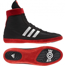 Adidas Combat Speed 4 cīņas apavi melni/sarkani/balti (X)