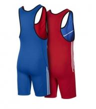 Adidas Wrestler M Afblue reslinga triko  (X)