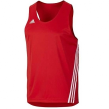 Adidas Base Punch TopM boksa krekls sarkans/balts (W)