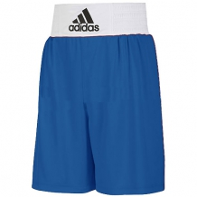 Adidas Base Punch boksa šorti zili/balti (W)