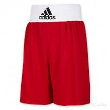 Adidas Base Punch boksa šorti sarkani/balti (W)
