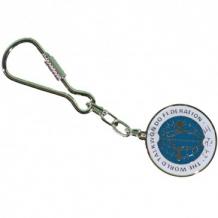 Budo Nord WTF metāla atslēgu piekariņš  (W)