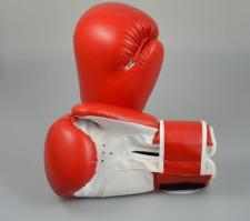 Phoenix boksa cimdi sarkani/balti