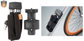 Saslēdzējs AXA FOLDABLE 8mm. x 100cm. (Pelēks)