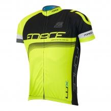 Force Lux velo krekls melns/elektro zaļš (W)