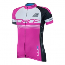 Force Lux velo krekls rozā/melns (W)
