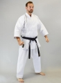 TORA Karate Gi Canvas džudo kimono balts