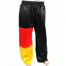 MG satīna bikses Vācijas karoga krāsās