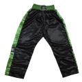 Phoenix Topfight kikboksa bikses satīna melnas/zaļas (W)