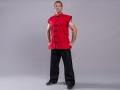 Phoenix Kung Fu Shaolin SL veste bez rokām sarkana