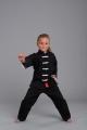 Phoenix Kung Fu Shaolin II uniforma melna/balta (W)
