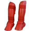 Phoenix karate kāju aizsargi sarkani