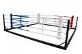 Pārvietojams grīdas boksa rings 6x6 m (virves 4,90x4,90)