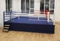 Phoenix boksa rings ar paaugstinājumu 6,5 x 6,5 m