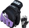 RDX Leather-X Kids MMA cimdi bērniem melni/violeti