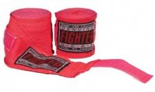 Fighter elastīgās boksa saites rozā (X)
