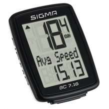 Sigma BC 7.16 velodators melns