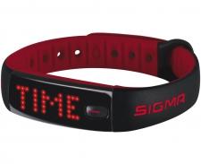 SIGMA ACTIVO soļu skaitītājs melns/sarkans