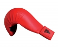 Adidas WKF Bigger karate cimdi sarkani