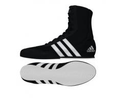 Adidas Box Hog 2 boksa apavi melni ar baltu zoli (W)