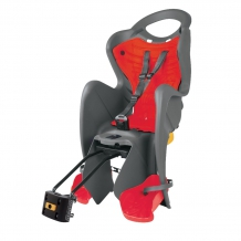 Belleli Mr. Fox Standart B-Fix bērnu sēdeklis pelēks/sarkans