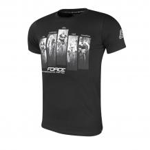 Force World T-krekls melns (W)