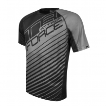 FORCE MTB ATTACK velo krekls pelēks/melns