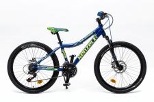Kenzel Vulcano 300 zēnu velosipēds zils