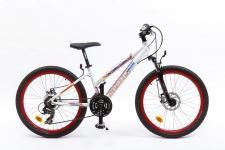 Kenzel Vulcano 300 meiteņu velosipēds balts