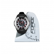 FORCE MAFIA pulkstenis melns/sarkans