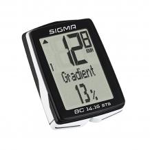 Sigma BC 14.16 STS velodators melns