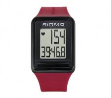 Sigma iD.GO pulsometrs sarkans