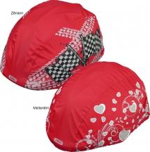 Abus Boy lietus cepure - ķiveres pārvalks sarkans (X)